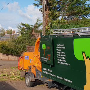 Truck for a tree surgeon